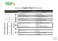Erratum to: English Chest 4 Workbook