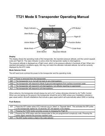 Trig tt31 installation