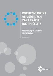 Korupční rizika ve veřejných zakázkách - Bezkorupce
