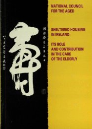Sheltered Housing in Ireland - National Council on Ageing and ...