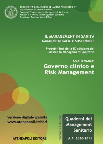 Governo clinico e Risk Management - Ateneapoli