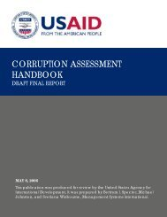 CORRUPTION ASSESSMENT HANDBOOK - World Bank