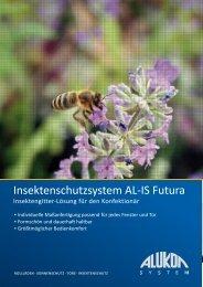 Insektenschutzsystem AL-IS Futura - Alukon GmbH & Co. KG