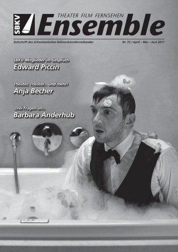 Edward Piccin Anja Becher Barbara Anderhub - SBKV