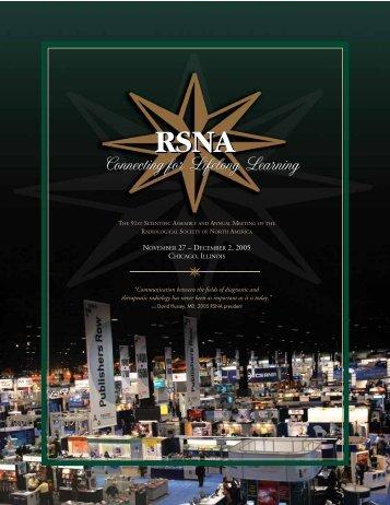 RSNA RSNA - Mallinckrodt Institute of Radiology