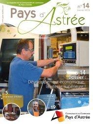 Année 2012 - Bulletin n°14 - Communauté de communes du Pays d ...