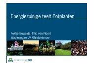 FB - Energiek 21april - Energiezuinige teelt potplanten - Energiek2020