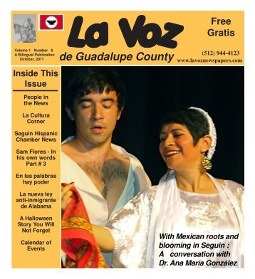 La Voz de Seguin October 2011 final.pmd - La Voz Newspapers