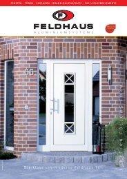 Die klassisch-moderne Feldhaus Tür. FUNCTION ... - Behr Fenster