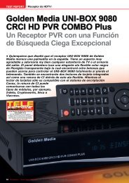 Golden Media UNI-BOX 9080 CRCI HD PVR - TELE-satellite ...