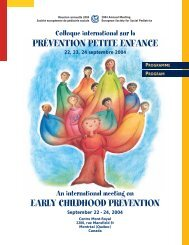 Programme / Program - Centre of Excellence for Early Childhood ...