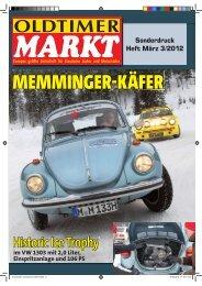 OLDTIMER MARKT 03/2012 - Memminger Feine Cabrios
