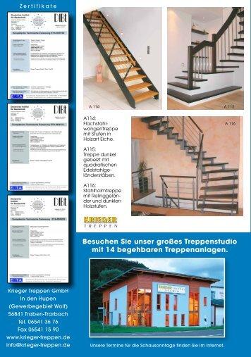 Besuchen Sie unser großes Treppenstudio mit 14 begehbaren ...