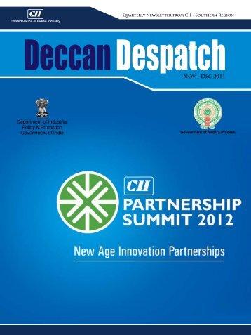 Deccan Despatch (November - December, 2011) - CII