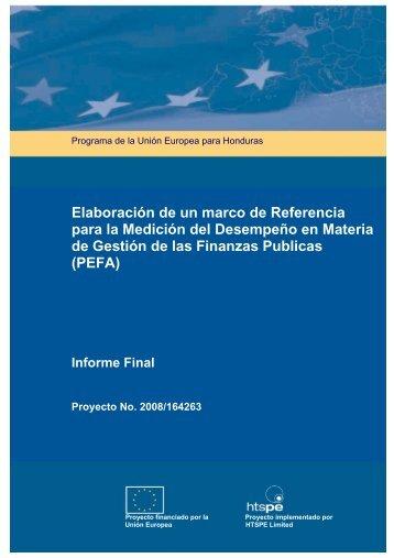 PEFA - Secretaría de Finanzas