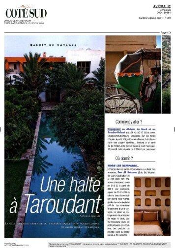 Maroc - Une halte à Taroudant - Voyageurs du Monde