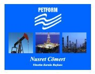 yeni petrol kanunu - PETFORM