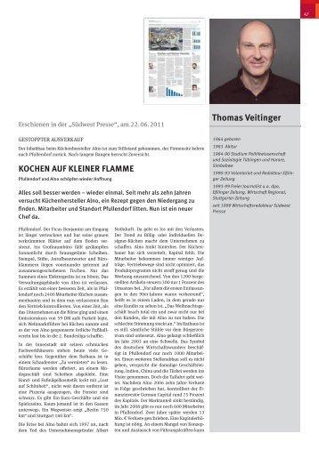 thomas Veitinger - Willi-Bleicher-Preis