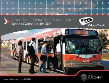 New Southeast Bus Rapid Transit - Calgary Transit