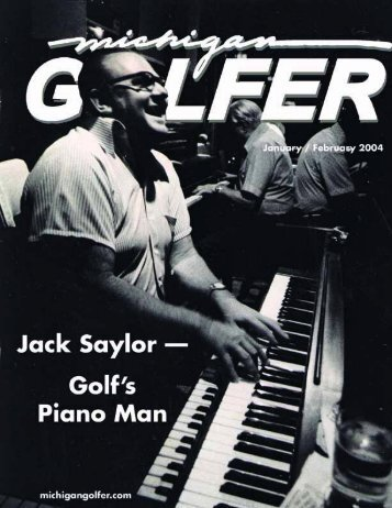 In This Issue - Michigan Golfer ON-LINE