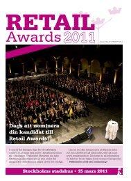 Nomineringsbilaga Retail Awards - Svensk Handel