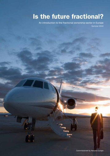 Is the future fractional? - NetJets Europe