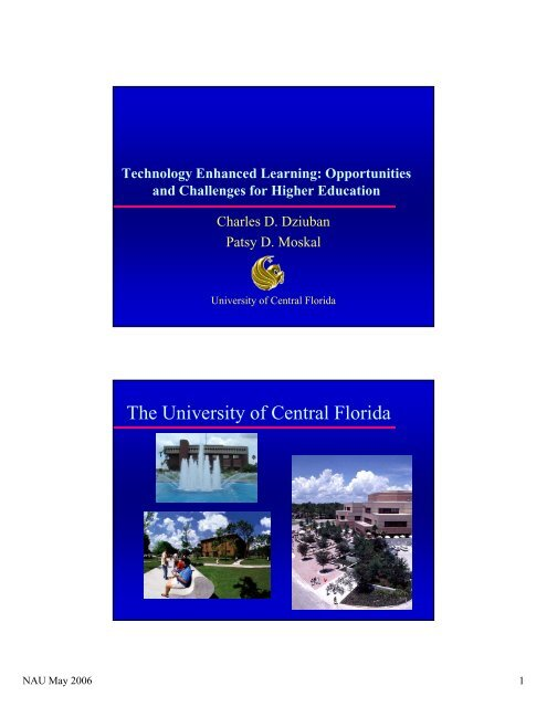 The University of Central Florida - Institute for Learning and ...