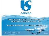 José Luiz Salvador Lorenzi - Sabesp