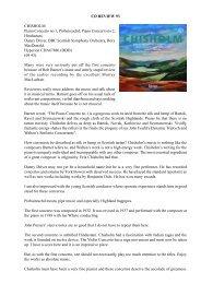 CD Review 93 Chisholm - Piano Concertos Danny ... - Dr David Wright