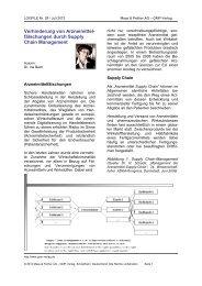 fälschungen durch Supply Chain Management - Gmp-Verlag