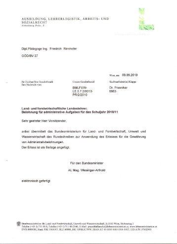 Belohnung - landwirtschaftslehrer.com