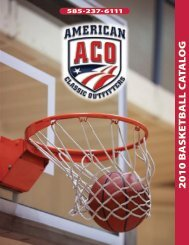 2010 ACO BASKETBALL CATALOG - American Classic Outfitters