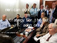 Amer i can Count er t er r or i s m: A St r at egy f or t he ... - World View