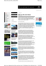 Falmouth School - RIBA Journal - KLH