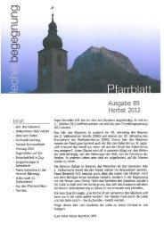 Pfarrblatt 89 – Herbst 2012.pdf - Pfarre Lech