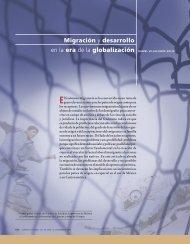 Migración y desarrollo en la era de la globalización DANIEL ...