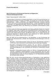 Neue EU-Normen zur Erhöhung der Sicherheit und Hygiene der ...