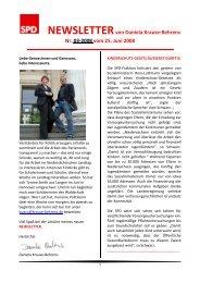 Newsletter 03-2008 - Daniela Behrens