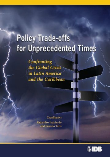 Policy Trade-offs for Unprecedented Times: Confronting the - Ceres
