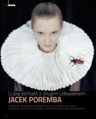 Jacek Poremba -- Lubię kontakt z drugim ... - Urbański, Robert