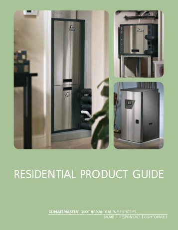 RESIDENTIAL PRODUCT GUIDE