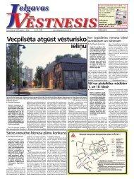 2010.gada 1.jūlijs Nr.25(159) - Jelgavas Vēstnesis