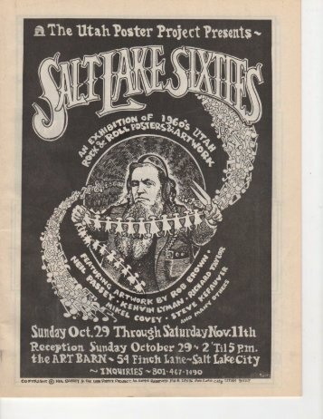 salt lake sixties - Theater X net