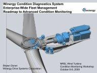 Winergy Condition Diagnostics System - NREL
