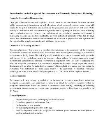 Curriculum Vitae - Mine Water Solutions