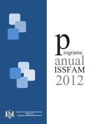 Programa Anual ISSFAM 2012.