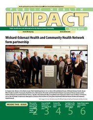 Spring 2013 - Health and Hospital Corporation of Marion County