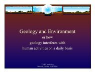 Geology and Environment