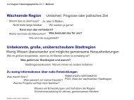 Themenspeicher aus Stadtregion+ - Stadt-Umland Management