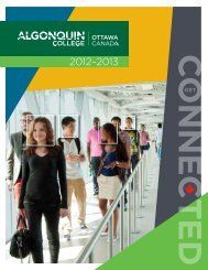 International Brochure - Algonquin College
